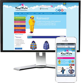 Kozi Kidz new website