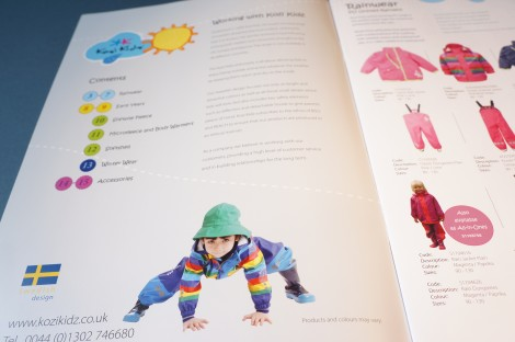 Kozi Kidz Brochure Design and Print