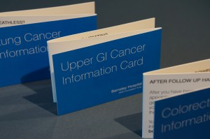 NHS Cancer Information Cards Design and Print