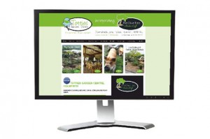 Totties Garden Centre and Nursery website design