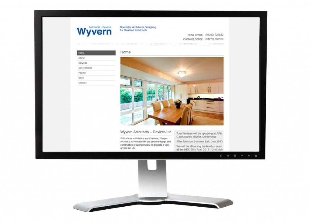Wyvern architects web